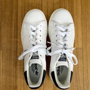 【100均】スニーカーをキレイに、ラクに履くために必ずやること。