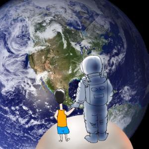 人類が初めて月に降り立った日に何をしていた?
