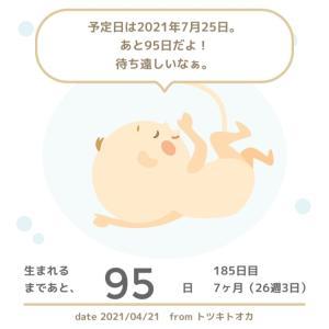 26w3d☆朝方から腹痛