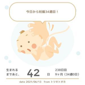 34w0d☆赤ちゃんの名前