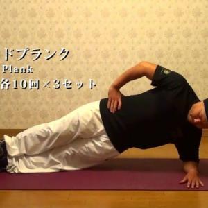 体幹トレーニングメニュー ver.2 【女性向け】/core workout routine