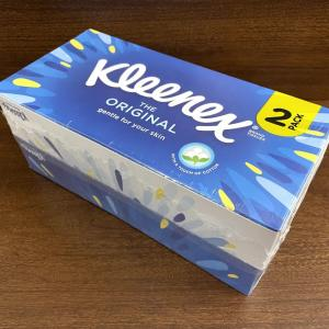 イギリス【王室御用達】 ティッシュ(Tissue) Kleenex The original Gentle for your skin