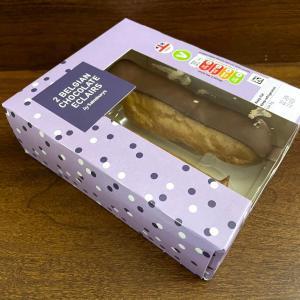 イギリス エクレア 2 Belgian Chocolate Eclairs by Sainsbury's