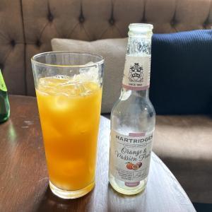 イギリス【パブ】 ハートリッジ オレンジ&パッションフルーツジュース Hartridges Orange & Passion Fruit