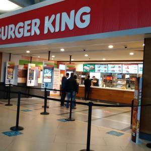 イギリス【ファーストフード】 バーガーキング Burger King