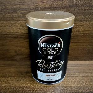 イギリス インスタントコーヒー ネスカフェゴールドブレンド Nescafe Gold Blend Roastery Collection Dark Roast Rich & Intense
