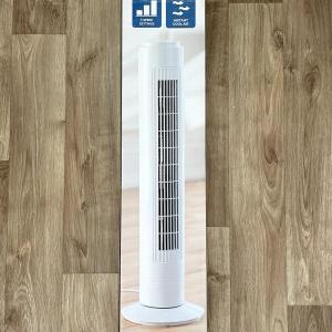 """イギリス タワー型扇風機 Fine elements 29"""" Slim Tower fan"""