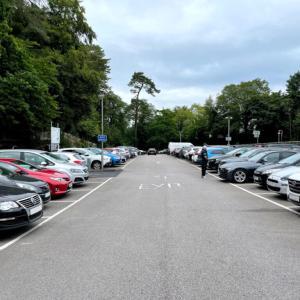 イギリス【旅行】 湖水地方 駐車場 Rayrigg Road Car Park