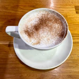 イギリス【外食/M&Sカフェ】 チャイラテ Chai Latte