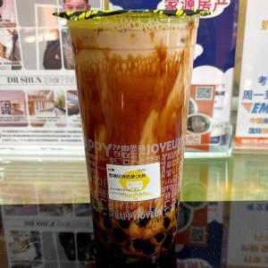イギリス タピオカミルクティー 黒糖珍珠奶茶 Brown sugar boba milk tea