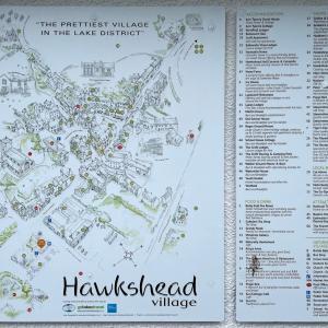 イギリス【旅行】 ホークスヘッド 駐車場 Hawkshead Car Park