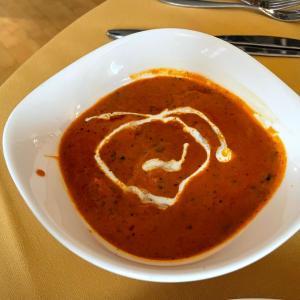 イギリス【外食】 インドカレー バターチキンカレー Butter Chicken Curry