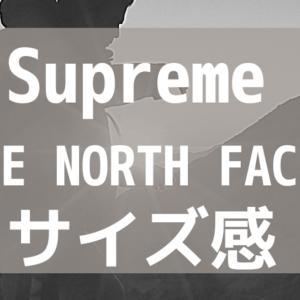 Supreme×THENORTHFACEダウンサイズ感