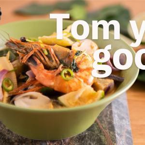 トムヤムクンの作り方(Tom yum goong)