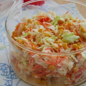 コールスロー | 野菜とアレの甘みでたっぷり作る!もりもり食べる!