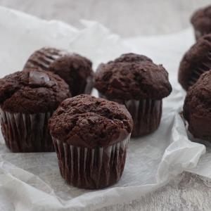 小さなサイズの濃厚ガトーショコラ   焼き時間も短めで簡単濃厚