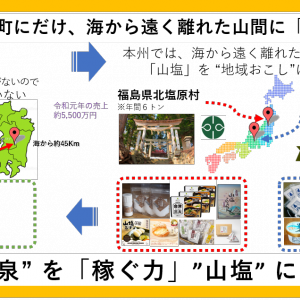 九州初、「山塩」の希少性で、湯前町の地域おこし(熊本県)