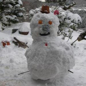 クエスト:雪だるま、つくろ~