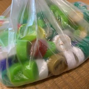 クエスト:ペットボトルのふた集め