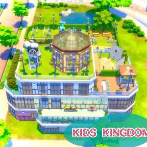 【建築】子供のスキル上げ公園(屋内)【名前:KIDS KINGDOM タイプ:公園 サイズ:40×30】