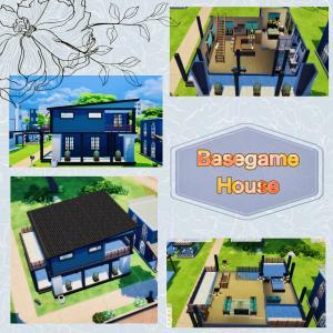 【建築】BaseGame House【タイプ:住居 サイズ:20×15】