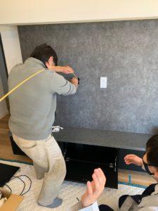 壁掛TV施工方法 〜意外とムズイですよ〜