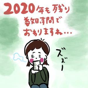 2020年もあと少しで終わりますね。。。