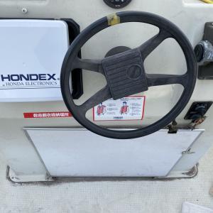 ホンデックスhe-8sの魚探に変えました!!