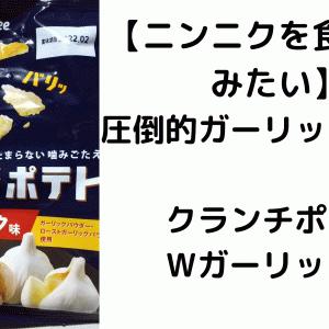 【ニンニクを食べてるみたい】圧倒的ガーリック風味!クランチポテトWガーリック味