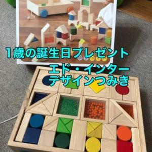 1歳誕生日 エド・インター【デザインつみき】をプレゼント