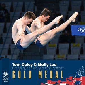 選手村を動画で案内してくれた英国選手も金メダル