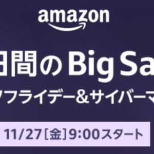 【買い物編】Amazonのビッグセール開催!正しいセールとの付き合い方
