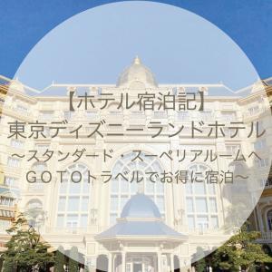 【ホテル宿泊記ブログ】東京ディズニーランドホテル~スタンダード・スーペリアルームへ~