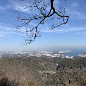 三浦アルプスハイキング(2021年1月25日)