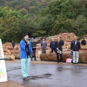 陛下のお手植えは「林業」の象徴となってしまったのか?