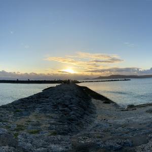2021 初日の出 沖縄