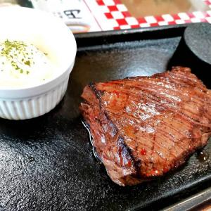 肉ゴロゴロスープが美味しいステーキ屋