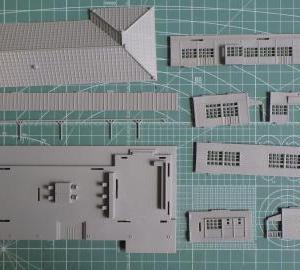 GMローカル駅舎の製作