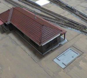 駅のトイレ完成