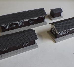 カトー構内建物セットの製作