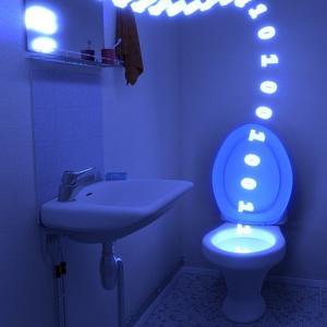 夜中、トイレで目が覚めるあなたに。オススメのLEDライト トイレのライトまぶしくないですか?