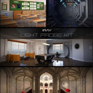 Daz Studioの便利なプラグイン、Iray Light Probe Kitの紹介!