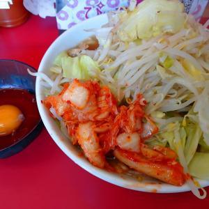 ラーメン二郎仙台店「極太麺+生卵+キムチ」を実食