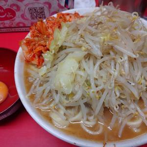 二郎仙台店「小豚3枚+生卵+キムチ」を実食