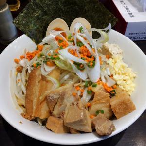 東北NO1超極太麺 麺屋ダダダ「ダダダの汁なし豚そば」実食