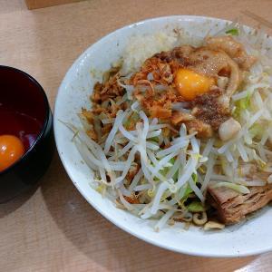 ラーメンジャパン「汁なし+生卵」を実食