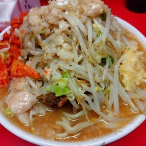 ラーメン二郎仙台店「小豚+生卵+キムチ」を実食