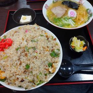 仙台のデカ盛り店 久美食堂で「炒飯+半ラーメン定食」を食してみた