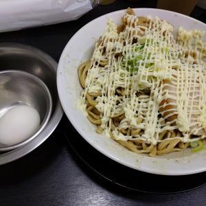 ラーメン鬼首小松島店「煮干しのアブラソバ+温玉+マヨ」を実食