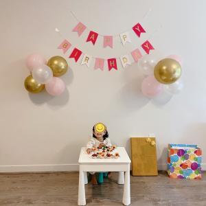 Happy Birthday♡はな2歳。ママ2歳。